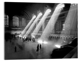 Acrylglas print  Historical Grand Central Station