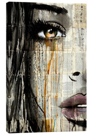 Canvas print  Eyes like amber - Loui Jover