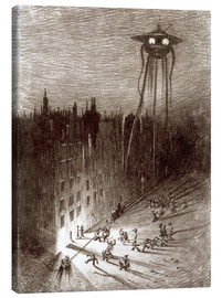 Canvas print  Martian Viewing Drunken Crowd - Henrique Alvim Correa
