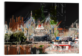 Acrylglas print  Queen Mary in the dock - Peter Roder