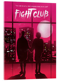Acrylglas print  Fight Club - 2ToastDesign