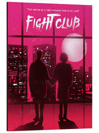 Aluminium print  Fight Club - 2ToastDesign