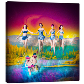 Canvas print  For Heaven's Lake - Stoddartist