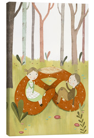 Canvas print  Hansel and Gretel - Judith Loske