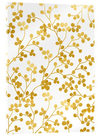 Acrylglas print  Golden Vines - Uma 83 Oranges