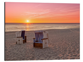 Aluminium print  Beautiful Baltic Sea beach