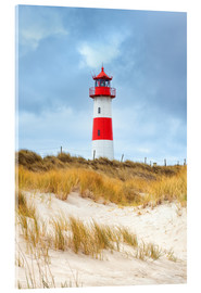Acrylglas print  Lighthouse in the east of the peninsula, Ellenbogen