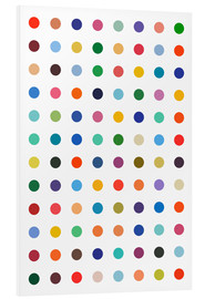 PVC print  Damien hommage - Colourful polkadots - THE USUAL DESIGNERS