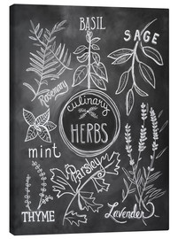 Canvas print  Herbs - Lily & Val