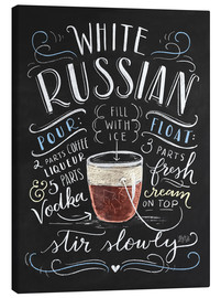 Canvas print  white russian - Lily & Val