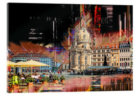 Acrylglas print  The new old Fauenkirche in Dresden - Peter Roder