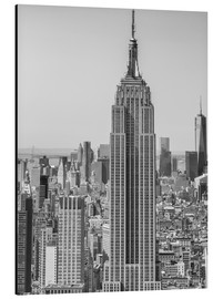 Aluminium print  New York City skyline