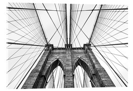 Acrylglas print  Brooklyn bridge