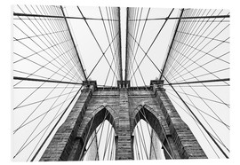 PVC print  Brooklyn bridge
