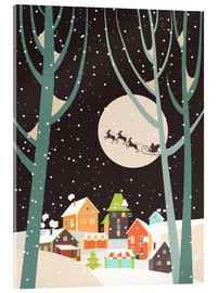 Acrylglas print  Christmas night - Kidz Collection