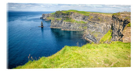 Acrylglas print  The famous Cliffs of Moher in Ireland