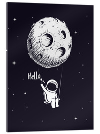 Acrylglas print  Moon swing - Kidz Collection