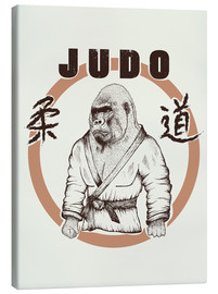 Canvas print  Judo Art