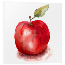 PVC print  Sweet apple watercolor