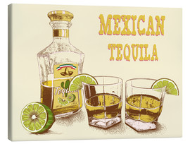 Canvas print  Tequila Drink