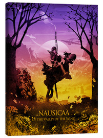 Canvas print  Nausicaä of the Valley of the Wind - Albert Cagnef