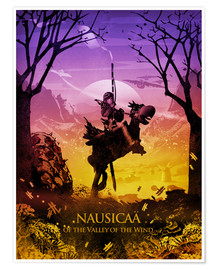 Premium poster Nausicaä of the Valley of the Wind