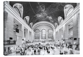 Canvas print  Grand Central Terminal, New York (monochrome) - Sascha Kilmer