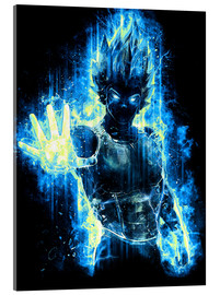 Acrylglas print  God Prince of Saiyans - Barrett Biggers