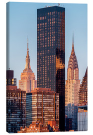 Canvas print  Empire State und Chrysler Building - Sascha Kilmer