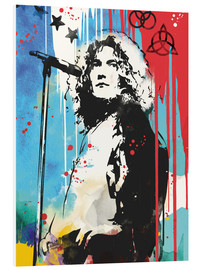 PVC print  Robert Plant, Led Zeppelin - 2ToastDesign