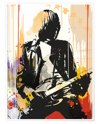 Premium poster Johnny Ramone, The Ramones