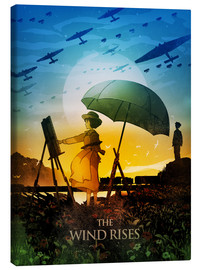 Canvas print  The Wind Rises - Albert Cagnef