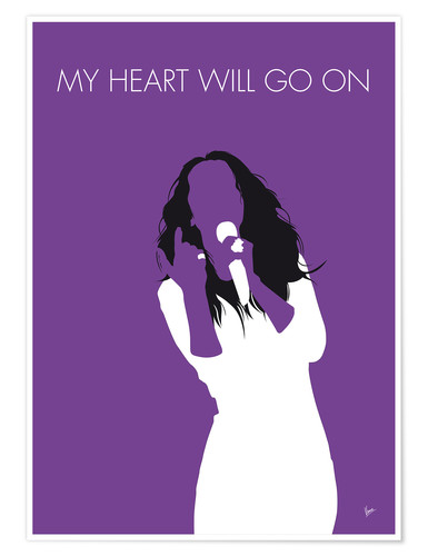 Premium poster Celine Dion - My Heart Will Go On
