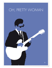 Premium poster Roy Orbison - Oh, Pretty Woman