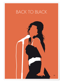Premium poster Amy Winehouse - Back To Black