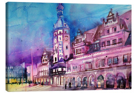 Canvas print  Leipzig, old town hall - Johann Pickl