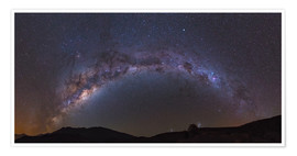 Premium poster southern Milky Way