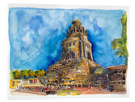 Acrylglas print  Leipzig Memorial to the Battle of Nations - Hartmut Buse