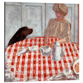 Aluminium print  The Dog's Dinner - Pierre Bonnard
