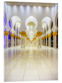Acrylglas print  Sheikh Zayed Grand Mosque