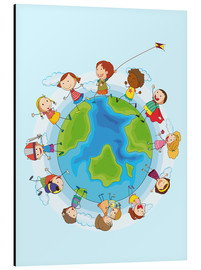 Aluminium print  Children of the world - Kidz Collection