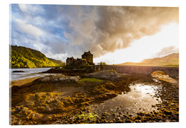 Acrylglas print  Eilean Donan Castle in the Highlands, Scotland - Dieterich Fotografie