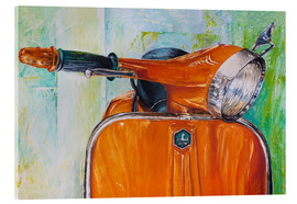 Acrylglas print  Vespa orange - Renate Berghaus
