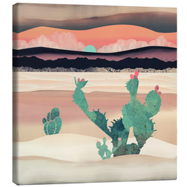 Canvas print  Dawn in the desert - SpaceFrog Designs