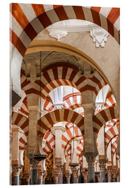 Acrylglas print  The Mosque of Cordoba