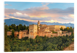 Acrylglas print  Alhambra with Comares tower