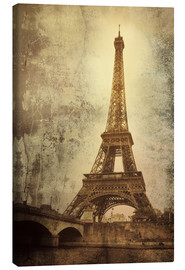 Canvas print  Eiffel tower