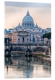 Acrylglas print  The Basilica of the Vatican