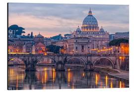 Aluminium print  The Basilica of the Vatican of St. Peter