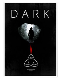 Premium poster Dark - TV Series Minimal Alternative Fanart